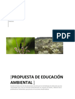 Propuesta de Educación Ambiental