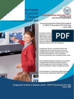 Penggunaan Powerpoint Dalam Pembelajaran