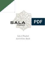 SALA Phuket Activities Book