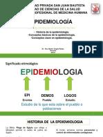 1 Epidemiologia, Historia, Funciones Epi 2019
