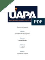 Tarea 1 Legislacion Laboral Denive