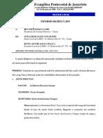 Informe de Trabajo 2018 Final