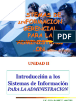 UNIDAD II EL SISTEMA DE INFORMACION PARA LA ADMINISTRACION.ppt