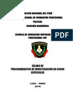 Silabus de Procedimiento de Investigacion en Casos Especiales.doc Honestidad