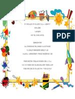 Proyecto Pedagogico de Aula