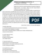 Ficha Formativa Interpretação e Gramática 2