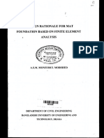 A DESIGN RATIONALE FOR MAT FOUNDATION BASED ON FINITE ELEMENT ANALYSIS.pdf