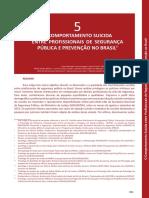 o Comportamento Suicida Entre Profis Sp Prevencao Brasil