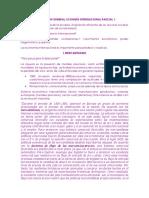 Información General Parcial 1 Econ -