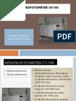 Spektrofotometer UV-Vis Annisa Filantropie