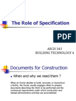 Building Technology 4 Specs Writing Slides 01