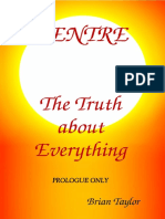 CENTRE The Truth about Everything - PREVIEW of PROLOGUE