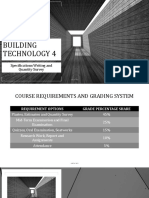 Building Technology 4 Specs Writing Slides 02