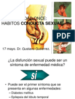 Clase Hábitos sexuales
