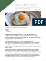 elcomidista.elpais.com-Croque-madame el mixto con huevo francés para sibaritas