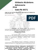Alegações Finais - Sebastião de Sousa Filho