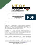 La imagen fotográfica y la crisis de lo real.pdf