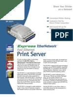 DP-301P+_ds Parallel Port to RJ PS
