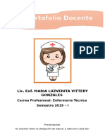 Portafolio Docente 2019
