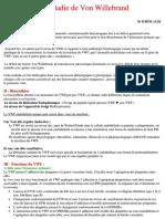 16. La maladie de Von Willebrand (1) - Copie.docx