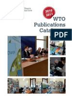 WTO Publications Catalogue 2010/2011