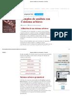 Ejemplos de Análisis Con El Sistema Arbóreo – El Pensante