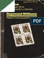 Williams, R., Cultura. Sociología de la Comunicación y del Arte (no reconoce texto).pdf