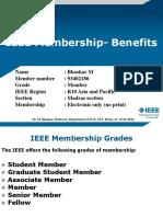 Benefits of IEEE Membership-Presentation