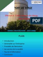 Rapport de Stage Ciments Des Maroc