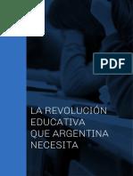 Informe de Educación - Frente Renovador - Sergio Massa
