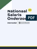 Muijen, J.J., E. Melse, Nationaal Salaris Onderzoek 2017 ISBN 9789082166637
