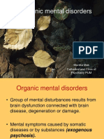 9.Mental Disorders Due to a General Medical Condition and Organic Brain Damages.
