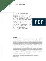 Subjetividad Social