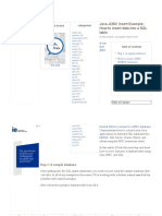 Java and SQL sample code example.pdf