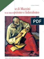 Arturo Colombo - La lezione di Mazzini tra europeimo e federalismo