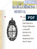 Historia de La Medicina Medieval