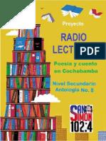 Proyecto Radio Lecturas. Poesía y cuento en Cochabamba