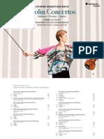 Bach Violin Concertos, Etc - Isabelle Faust, AFAMB