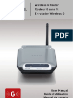 Belkin Wireless Router Manual-Spanish
