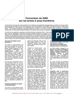 Convention Sur Les Armes à Sous Munitions