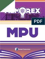 MEMOREX MPU – ANALISTA (Rodada 05)