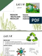 Las 3 r de la ecologia