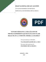 ESTUDIO MEDIANTE LA REALIZACION DE PRUEBAS EXPERIMENTALES DE FLOTACIÓN FLASH.pdf