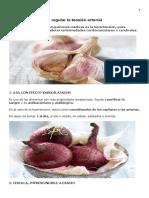 Alimentos Clave Para Regular La Tensión Arterial