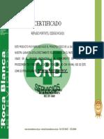 Certificado de Calidad Rca 01.Docx