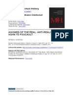 Anti realismo de Kuhn a Foucault