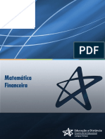 Matemática Financeira Teorico 1