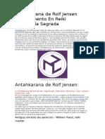 Antahkarana de Rolf Jensen Complemento en Reiki Geometría Sagrada