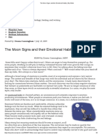 CUNNINGHAM_The Moon Signs and Their Emotional Habits
