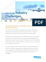 Top 10 Airline Industry Challenges
